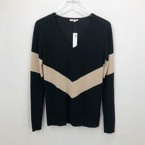 LA Made/Revolve Chevron Striped Sweater